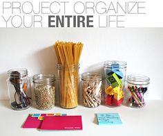 Project Organize Your ENTIRE Life: Weekly Schedule