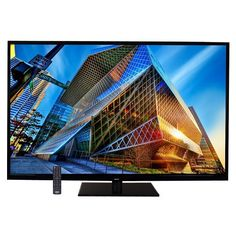 The Sanyo 65-inch HDTV features a fast response time and refresh rate. With a Full HD resolution, you're sure to enjoy watching your favorite TV shows and movies in brilliant HD.   SANYO DP65E34 Key Features Brand: Sanyo Display: 65 inches Product type: LED Color: Black Aspect Ratio: 16:9 Resolution: 1920 x 1080p