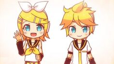 rin and len kagamine eletric angel