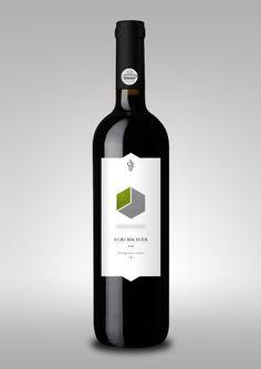 Ostorosbor Wine Label by Gergely Bogányi, via Behance #vinosmaximum wine / vinho / vino