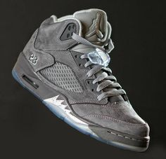 'Wolf Grey' Air Jordan Retro 5
