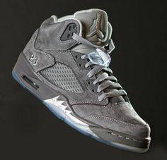 'Wolf Grey' Air Jordan Retro 5