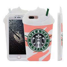 PassionFruit Swirl Starbucks Iphone 7Plus Case