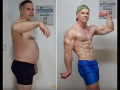 Before & After more than 100 Pound Weight Loss Transformation