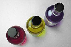 Botella de la poesía - La Armonía de color, aroma y sabor.