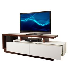 Tv stands with drawers stand ikea Tv Wall Furniture, Tv Unit Furniture Design, Tv Unit Design, Tv Wall Design, Furniture Decor, Tv Table Stand, Long Tv Stand, Backdrop Tv, Lcd Panel Design