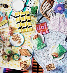 Crafty picnic in Find and Keep by Beci Orpin!  Published by Hardie Grant, featuring photography by Chris Middleton