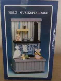 Nürnberger Festschmuck VOM ECKART!Spieluhr mit Mäusen!NEU!