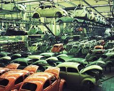 Artikelbild; Volkswagen Fototapete 470574 #industrial #style #chic #holz #stein #tapete #industrie #look #ascreation #fototapete
