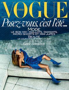 Gisele Bündchen covers the June/July 2017 issue of Vogue Paris | Vogue Paris