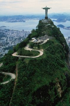 I alone remain uncommitted, like an infant who has not yet smiled, Unattached, without a place to merge. [El cerro del Corcovado, Río de Janeiro, Brasil].