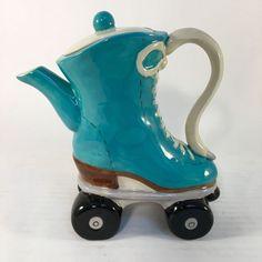 Roller skate teapot