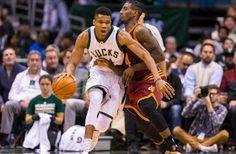 Blog Esportivo do Suíço:  Bucks não se intimidam, aprontam e derrubam líderes Cavs em Milwaukee