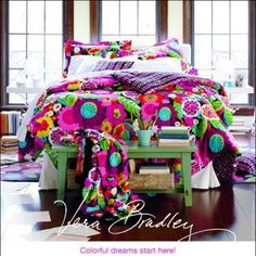 Vera Bradley bedding. LOVE!!!