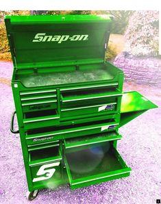 Mechanic Tool Box, Truck Tool Box, Tool Box Storage, Tool Organization, Garage Storage, Garage Tools, Garage Workshop, Garage Shop, Garage Ideas