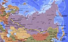 the trans siberian route, more or less as it exists today.