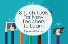 8 Tech Tools for New Teachers to Learn Learning Tools, Kids Learning, Teaching Interview, New Teachers, Teacher Hacks, Professional Development, Educational Technology, Classroom, Writing