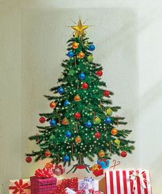 Fathead Holiday Christmas Tree - Wall Sticker Outlet | Holiday ...