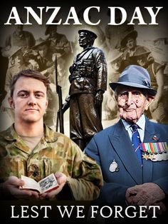 ANZAC Day - at the going down of the sun and in the morning we will remember them. Lest we forget.
