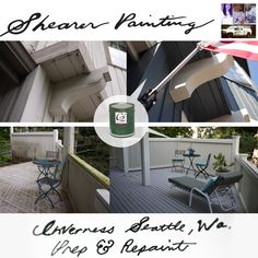 C2 paint colors selected by Robin Daly for Inverness Seattle, Wa. house painting project.