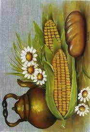 Resultado de imagen para cuadros punto de cruz frutas y verduras