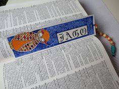 Marcapáginas personalizado/ Costumized bookmark