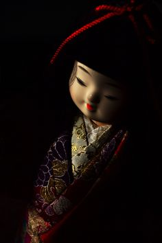 Japanese Ichimatsu doll 市松人形