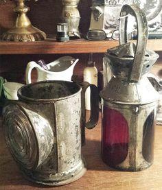 Website, webpage on antique railroad lantern and railroadiana collecting Ferrari 612, Lanterns, Train, Antiques, Vintage, Antiquities, Antique, Lamps, Vintage Comics