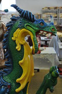 Dragon Carousel Animal