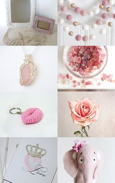 Perfect Romance by Andrea Dawn on Etsy--Pinned with TreasuryPin.com Shopping World, You Are Awesome, Pretty In Pink, Dawn, Crochet Necklace, Lavender, Romance, Etsy Shop, Jewelry