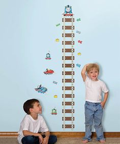 Take a look at this Thomas & Friends Peel & Stick Growth Chart by Thomas & Friends on #zulily today!