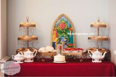 Belle / Beauty and the Beast Birthday Party Ideas | Photo 4 of 27