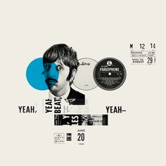 The Beatles. Revolution 9 by Emanuele Serra, via Behance