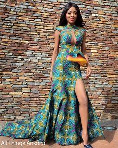 Ankara Product of The Day: @Lushlahai's Aya Gown Blog Post at: allthingsankara.com #AllThingsAnkara #Lushlahai