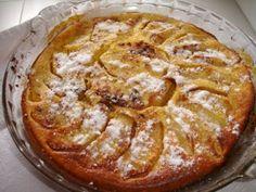 Receita Sobremesa : Clafoutis de maçã de Alebana