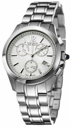Golana Swiss Women S Au200 2 Aura Pro 200 Quartz Chronograph Watch Golana Swiss 243 00 Sapphire C Pretty Watches Diamond Watches Women Women S Dress Watches