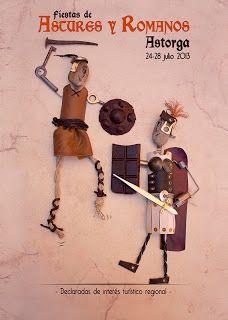 Accésit-Finalista en Fiestas de Astures y Romanos en Astorga.
