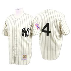 1939 Lou Gehrig New York Yankees home Jersey
