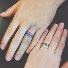 150 Best Wedding Ring Tattoos Designs (July 2018)   Wedding ring ...