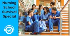 Want to spend less time studying for nursing school? See how Picmonic can help! #nursingschool #nursingstudents