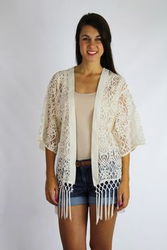 Down to Earth Kimono $40 | Truly Yours Boutique