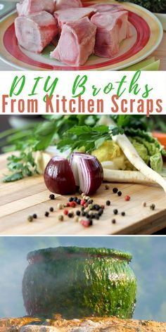 DIY Broths From Kitchen Scraps - easy