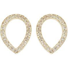 SOPHIEBREITMEYER Brown Diamonds Tear Drop Earrings ($7,455) ❤ liked on Polyvore featuring jewelry, earrings, accessories, brincos, tear drop earrings, teardrop jewelry, brown diamond stud earrings, teardrop earrings and brown diamond jewelry