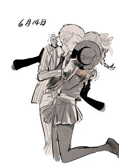 trying to figure out how fuyuhiko did that because he's way shorter than peko