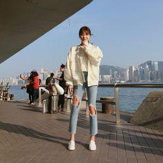 ♡バックロゴサテンブルゾン♡ #レディースファッション #ファッション通販 #ファッショントレンド #新作 #最新 #モテ服 #韓国ファッション #韓国レディース通販 #ootd #wiw #fashionaddict #womensfashion #fashion https://goo.gl/LFxnOp