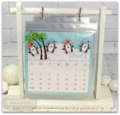 Taylored Expressions: Blog Design Team: Penguins & Palm Trees!