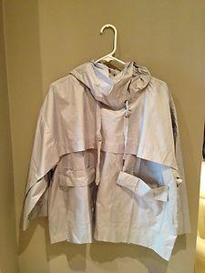 ADIDAS Stella McCartney WEEKENDER Pull-on Sport Jacket GREY COLOR SIZE MEDIUM