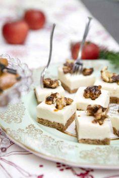 Att pepparkaka och ost är en drömsk kombination är vida känt. Testa den här varianten med mjukpepparkaka och getostmousse!
