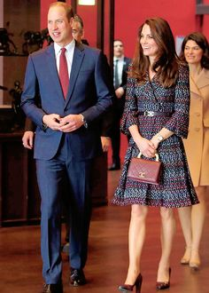 The Duke and Duchess of Cambridge in Paris, France, March 18, 2017
