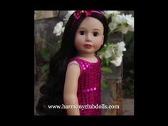 Meet Harmony Club Dolls. New Doll Collection. Same Size as American Girl...
